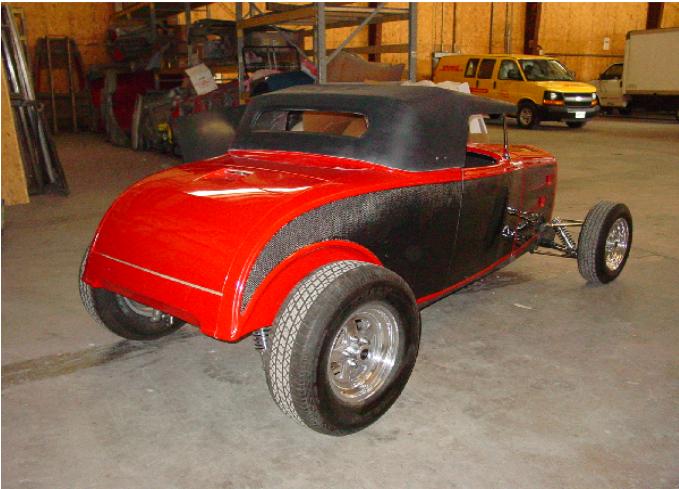 32 Chevy Roadster - 1932 Chevrolet Roadster Fiberglass Streetrod