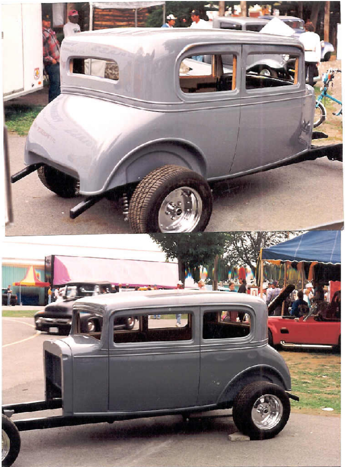 1932 Chevrolet Vicky Street Rod Body Streetrod Bodies