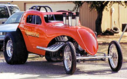 1937 Fiat Body - Fiat Fiberglass Body - Fiat Coupe Body