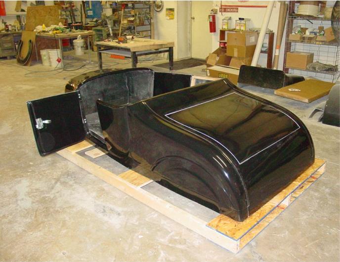 27 Ford Roadster Body 1927 Roadster Body Fiberglass Body